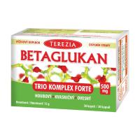 TEREZIA BETAGLUKAN Trio Komplex Forte 500 mg 30 kapslí