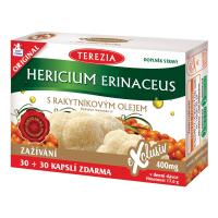 TEREZIA Hericium erinaceus s rakytníkovým olejem 30 + 30 kapslí ZDARMA
