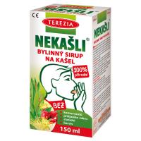 TEREZIA Nekašli 100 % přírodní bylinný sirup 150 ml
