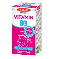 TEREZIA Vitamin D3 BABY kapky 10 ml