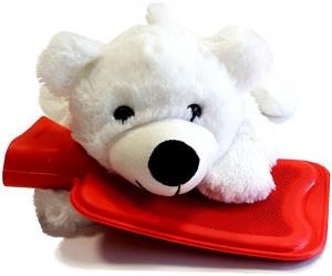 SANITY Dětský plyšový termofor lední medvěd 0,6 l
