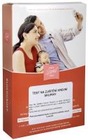 MIRATES Test na zjištění krevní skupiny 1 ks