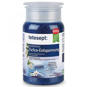 TETESEPT Mořská sůl do koupele Hluboké uvolnění 600 g