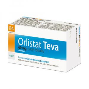 TEVA Orlistat 60 mg 84 kapslí