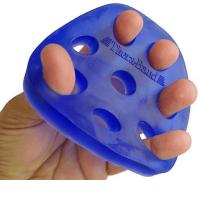 THERA-BAND posilovač prstů a dlaně tuhý - modrý