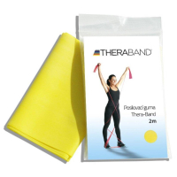THERA-BAND Posilovací guma žlutá - slabá 2 m