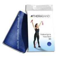 THERA-BAND Posilovací guma modrá - extra silná 2 m