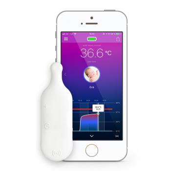 THERMEENO Snímač tělesné teploty s mobilní aplikací, rozbalené