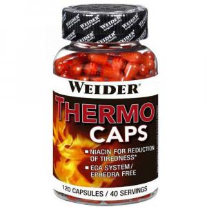 WEIDER Thermo Caps termogení spalovač tuku 120 kapslí