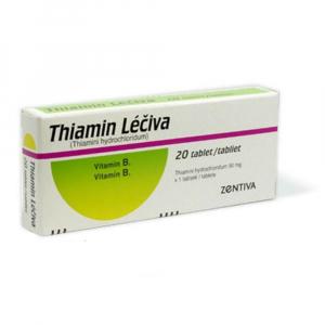 THIAMIN Léčiva 50 mg 20 tablet