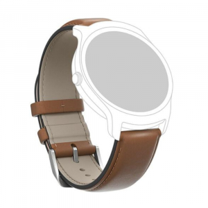 TICWATCH Leather Watch Strap kožený řemínek hnědý