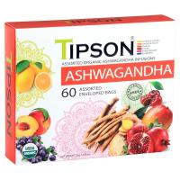 TIPSON Ashwagandha kazeta bylinný čaj BIO 60 sáčků