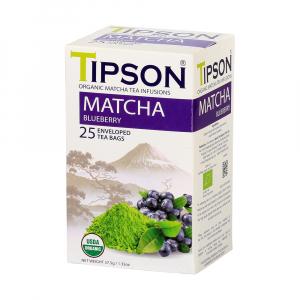 TIPSON Matcha Blueberry 25 sáčků BIO