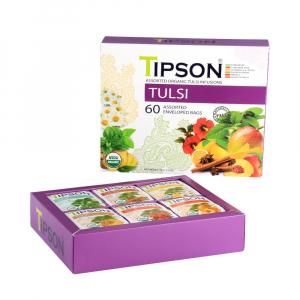 TIPSON Tulsi assorted bylinný čaj 60 sáčků BIO