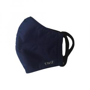 TNG Rouška textilní 3-vrstvá tmavě modrá velikost L 5 kusů
