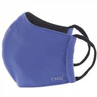 TNG Rouška textilní 3-vrstvá tmavě modrá velikost M 5 kusů