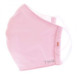 TNG Rouška textilní 3-vrstvá růžová velikost M 1 kus