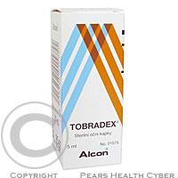 TOBRADEX  1X5ML Oční kapky, suspenze