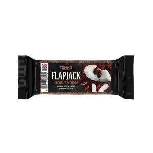 TOMMS Flapjack ovesná tyčinka kokos a kakao 100 g