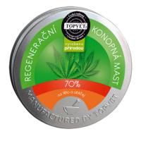 TOPVET Regenerační konopná mast 70% 100 ml