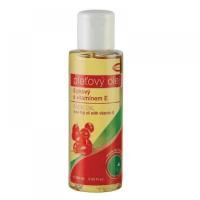 TOPVET Šípkový olej 100% s vitaminem E 100 ml