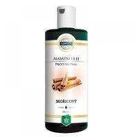 TOPVET Skořicový masážní olej 200 ml