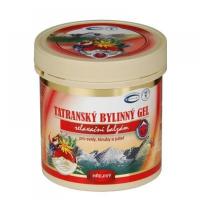 TOPVET Tatranský bylinný gel hřejivý 250 ml