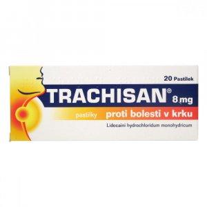 TRACHISAN Proti bolesti v krku 8 mg 20 pastilek