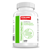 VITALAND Trávicí enzymy 100 tobolek