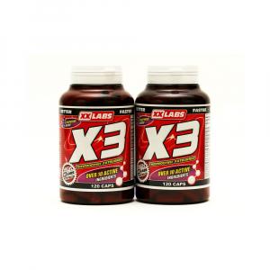 XXLABS Tri-Complex spalovač tuku X3 120 kapslí + 120 kapslí ZDARMA