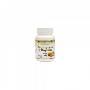 UNIOS PHARMA Bromelain + Papaya 60 mg 90 tablet