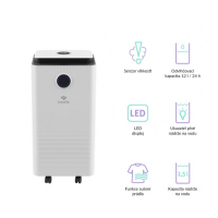 TRUELIFE AIR Dehumidifier DH5 Touch odvlhčovač a čistička vzduchu