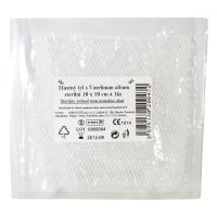 Tyl mastný s vaselinum album sterilní 10cmx10cm/1ks