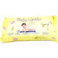 Ubrousky dětské vlhčené 15ks Baby Lindo cestovní