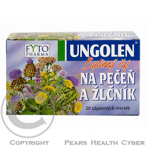 FYTOPHARMA Ungolen bylinný čaj na játra a žlučník 20x 1,5 g