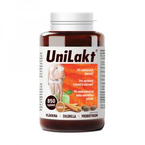 UNILAKT se skořicí 850 tablet