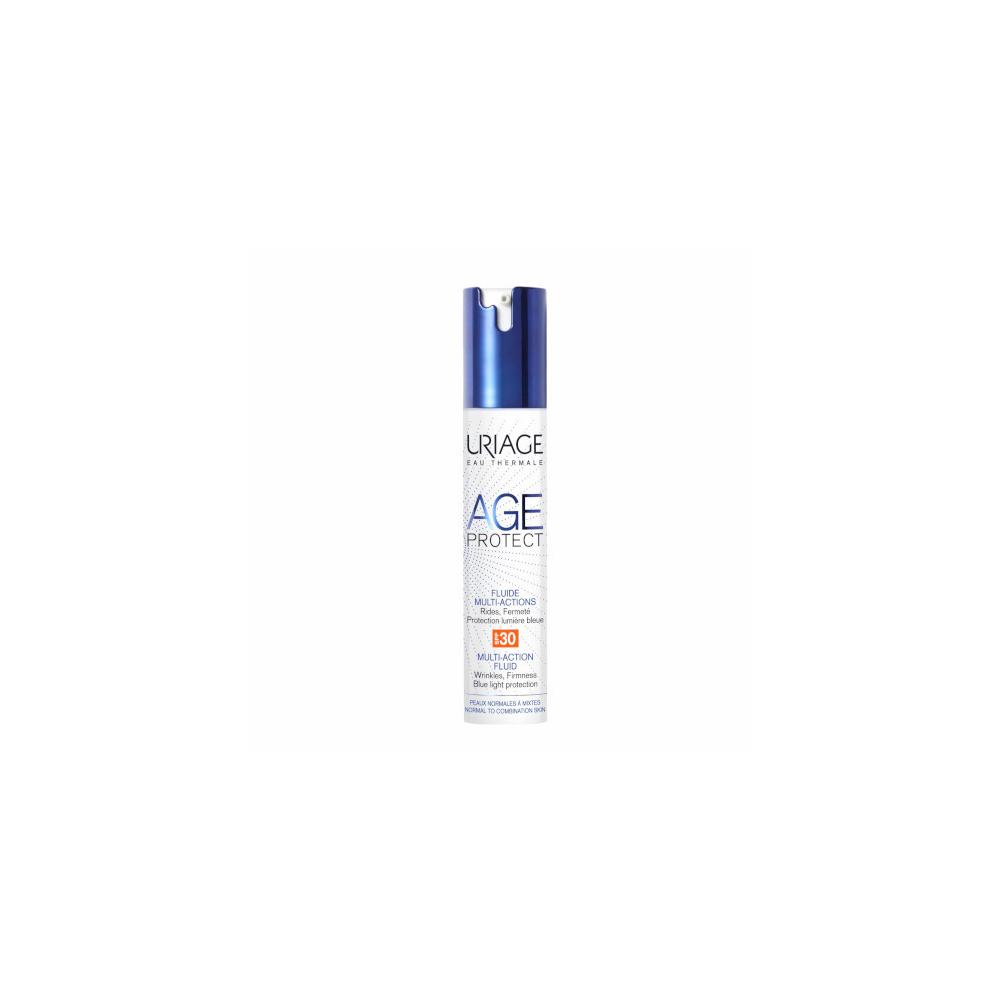 URIAGE Multifunkční fluid na obličej Age Protect SPF 20 (Multi-Action Fluid) 30 ml