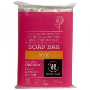 URTEKRAM BIO Růžové mýdlo 100 g