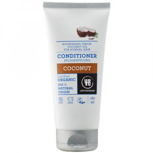 URTEKRAM BIO Vyživující kondicionér s kokosovým olejem 180 ml