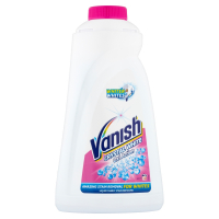 VANISH Oxi Action Crystal White tekutý odstraňovač skvrn na bílé prádlo 1 l