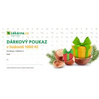 Vánoční elektronický dárkový poukaz 1000 Kč