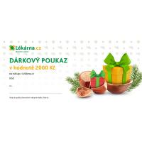 Vánoční elektronický dárkový poukaz 2000 Kč