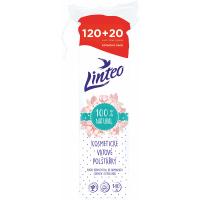 LINTEO Vatové polštářky 120+20 ks