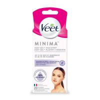 VEET Minima Hypoalergenní voskové pásky na obličej 20 ks
