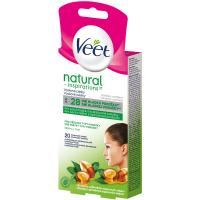 VEET Natural Inspirations Voskové pásky na obličej 20 ks