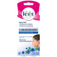 VEET Studené voskové pásky na obličej pro citlivou pokožku 40 ks