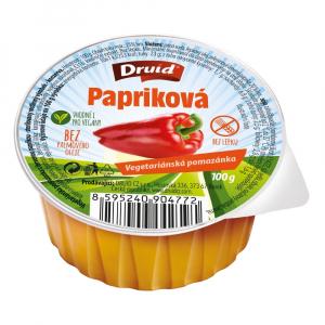 DRUID Vegetariánská pomazánka S červenou paprikou 100 g