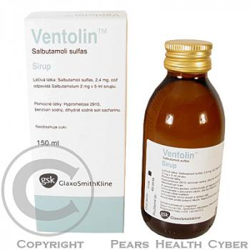 VENTOLIN  1X150ML Sirup