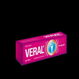 VERAL 10 mg/g gel 1x100g II