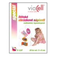 VIACELL Dětské obrázkové náplasti 20 kusů